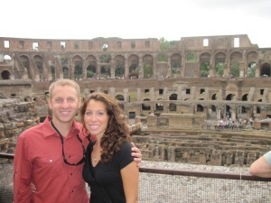 Our First Anniversary in Rome